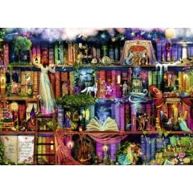 Puzzle Ravensburger Biblioteca de fantasía de 1000 piezas