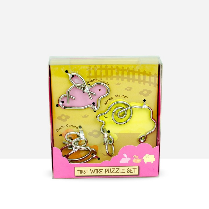 First Wire Puzzle Set Animal 1