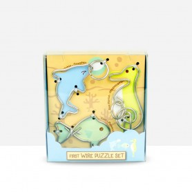 First Wire Puzzle Set Aquatic