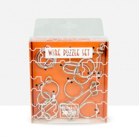 Wire Puzzle Set Orange