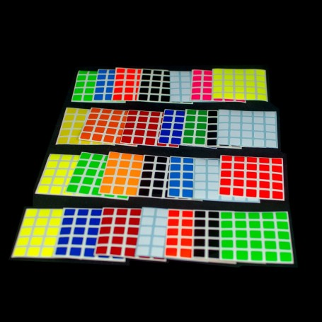 Z-Stickers 5x5 V-Cube