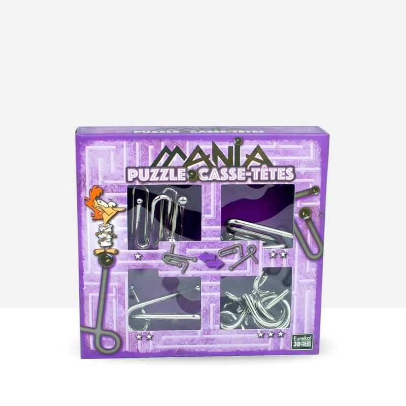 """Puzzle Mania """"Chicken"""" Morado"""