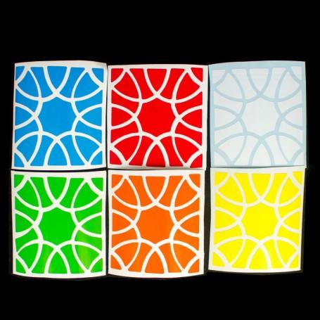 Sticker Clover Cube