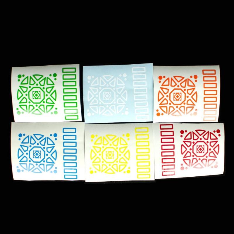 Sticker Out-Line DaYan Wheel of Wisdom
