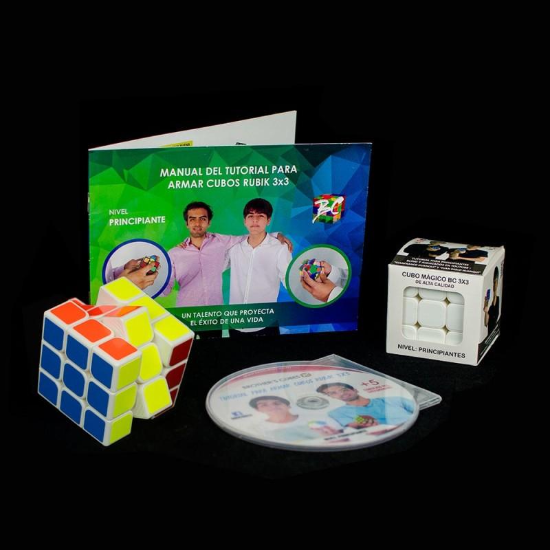 Kit de aprendizaje Cubo de Rubik 3x3