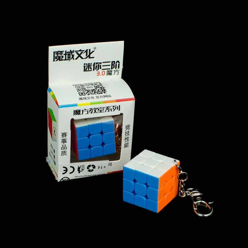 MoFang JiaoShi Mini 3x3 Llavero (3.0 cm)