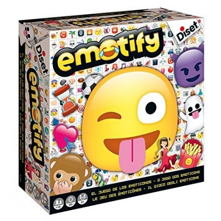 Emotify, juego de preguntas - Diset