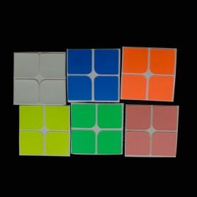 Cubo de Rubik 2x2 Luminoso 6 Colores