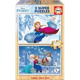 Puzzle Educa Frozen 2x50