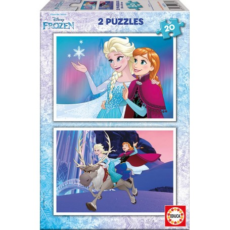 Puzzle Educa Frozen 2x20