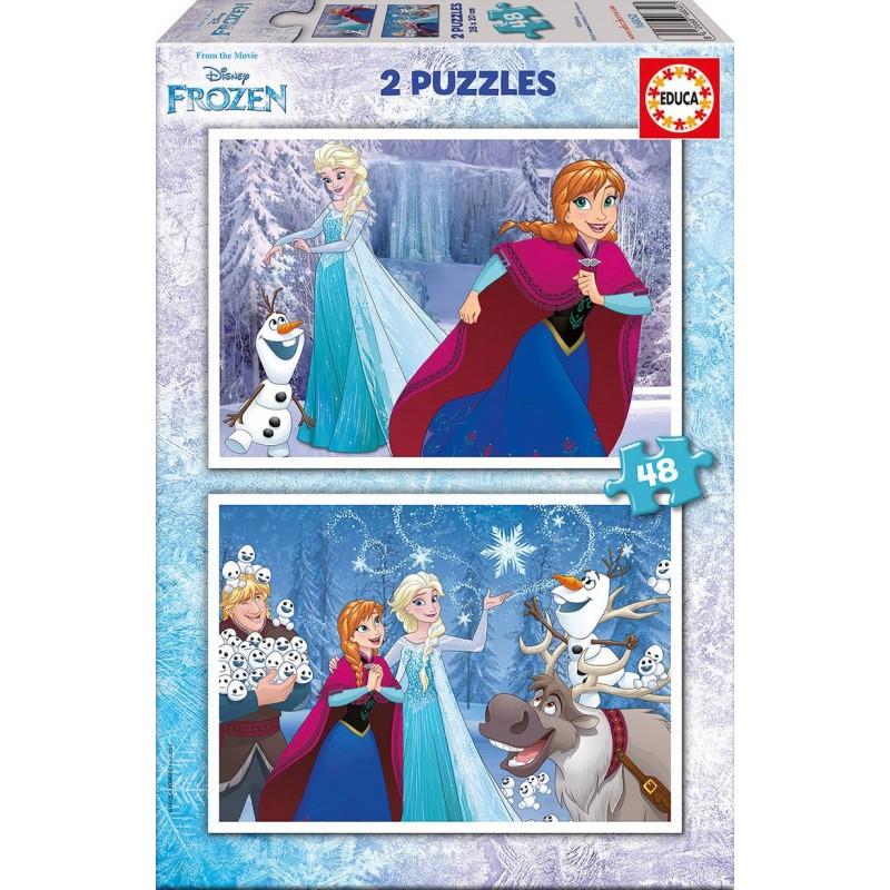 Puzzle Educa Frozen 2x48