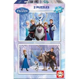 Puzzle Educa Frozen 2x100