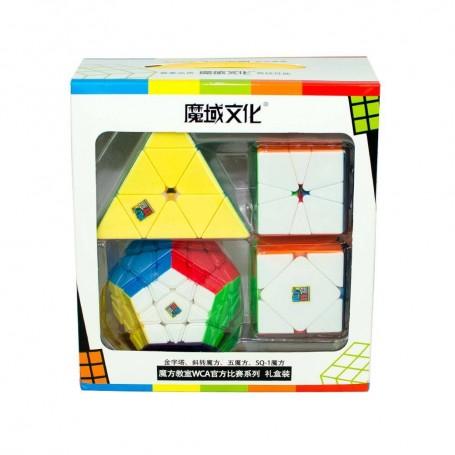 Pack Iniciación Cubos de Rubik Básicos