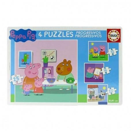 Puzzle Educa Progresivos Peppa