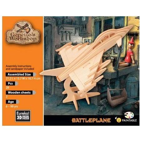 Gepetto's Avión de combate Puzzle 3D