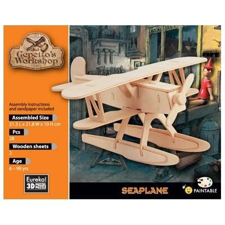 Gepetto's Hidroavión Puzzle 3D