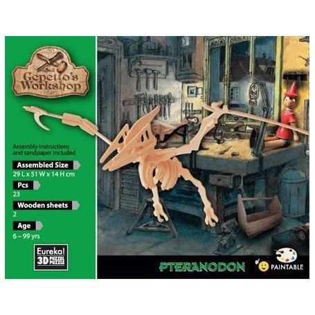 Gepetto's Pteranodon Puzzle 3D