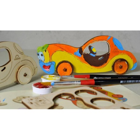 UgearsModels - Coche Puzzle 3D