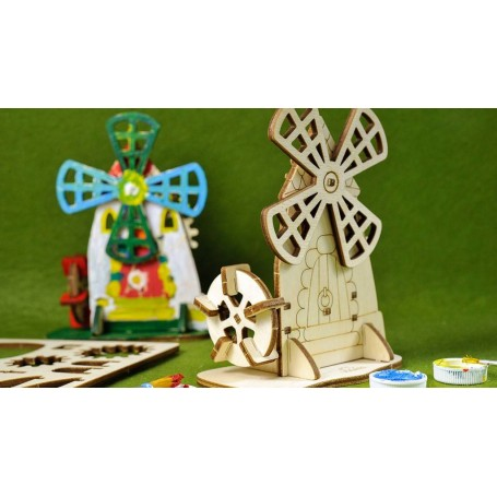 UgearsModels - Molino Puzzle 3D