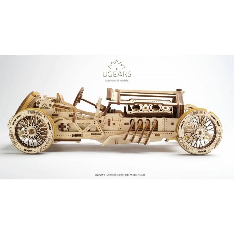 UgearsModels - U-9 Grand Prix Car Puzzle 3D