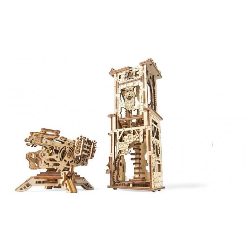 UgearsModels - Torre de balista Puzzle 3D