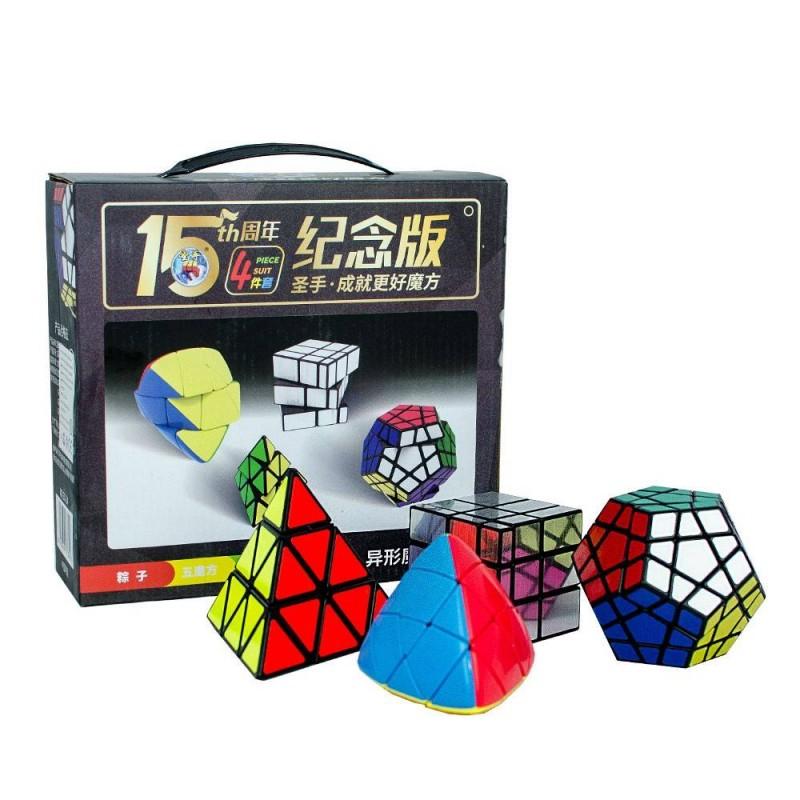 Pack Cubos de Rubik Shengshou (4 Cubos Básicos)