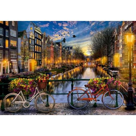 Puzzle Educa Ámsterdam de 2000 piezas