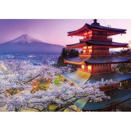 Puzzle Educa Monte Fuji, Japón de 2000 piezas
