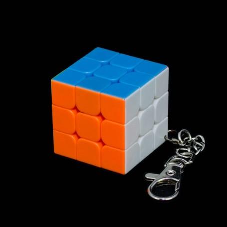 Cubo de Rubik llavero 3x3 (3.5 cm)