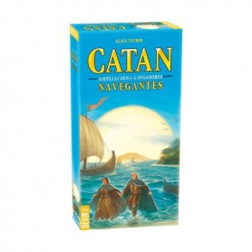 Catan navegantes ampliación 5-6 jugadores