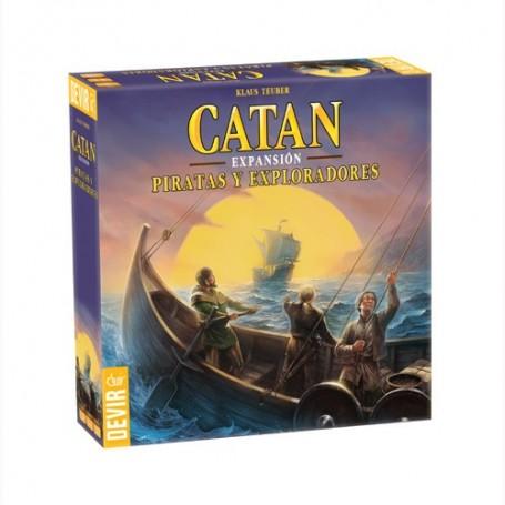 Catán - Piratas y exploradores, expansión