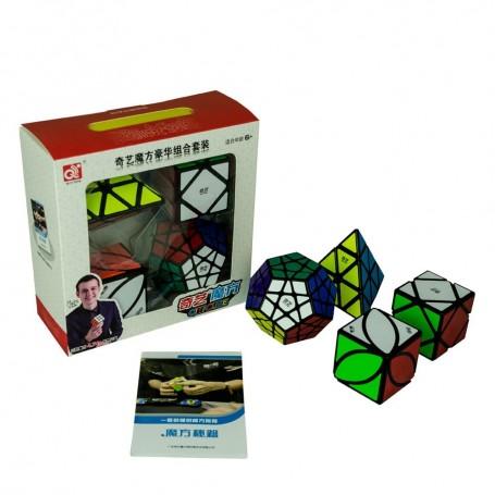 Pack QiYi Iniciación Cubos de Rubik Básicos