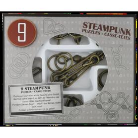 Steampunk Puzzles Caja Gris