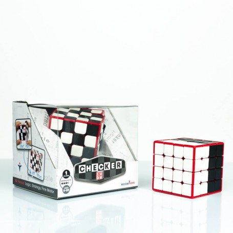 Mefferts Checker Cube 4x4