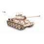 Puzzle eco Wood Art Tanque T-34 600 Piezas