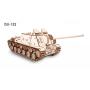 Puzzle eco Wood Art Tanque ISU-152 694 Piezas