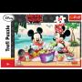 Puzzle Trefl Mickey Mouse Picnic en la playa de 24 Piezas