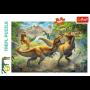 Puzzle Trefl Lucha Contra el Tiranosaurio de 160 Piezas