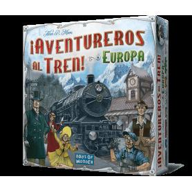 Juego ¡Aventureros al tren! Europa