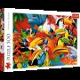 Puzzle Trefl Pájaros coloridos de 500