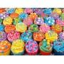 Puzzle Clementoni Cupcakes a Todo Color de 500 Piezas