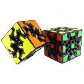 Pack Gear Cube 2x2 + 3x3 (Base negra)