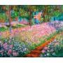 Puzzle Ricordi El Jardin, Monet de 1500 Piezas