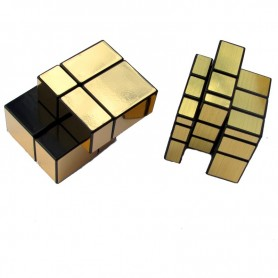 Pack Mirror Cube 2x2 + 3x3 Dorado