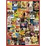 Puzzle Clementoni Romances Clásicos de 500 Piezas