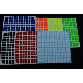 Z-Stickers para Cubo 11x11