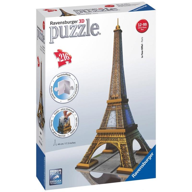 Puzzle Ravensburger Torre Eiffel 3D