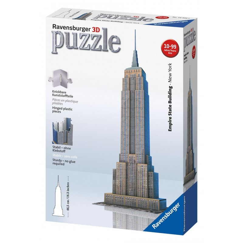 Puzzle Ravensburger Empire State 3D
