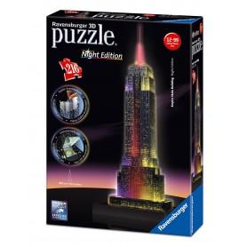 Puzzle Ravensburger Empire State 3D Con Luz