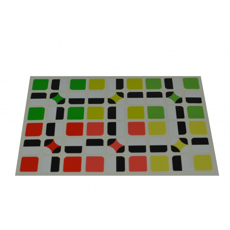 Cubo de Rubik 3x3 Five Colors